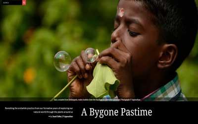 A Bygone Pastime